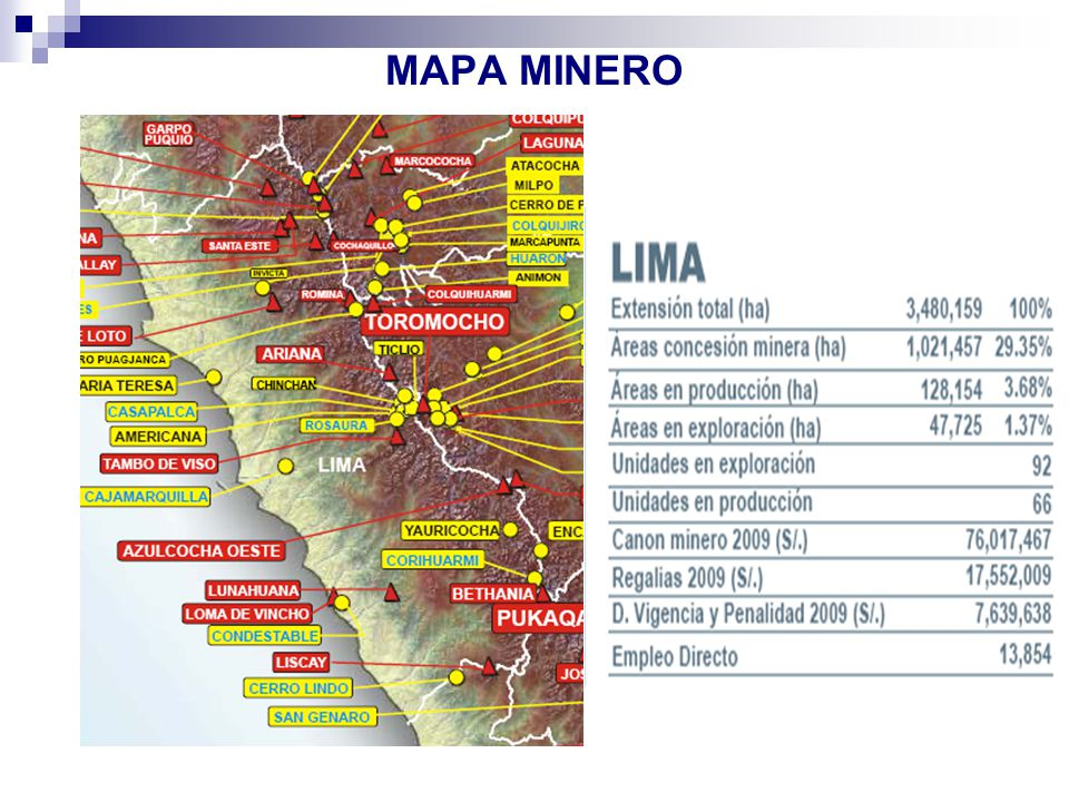 MAPA MINERO 48