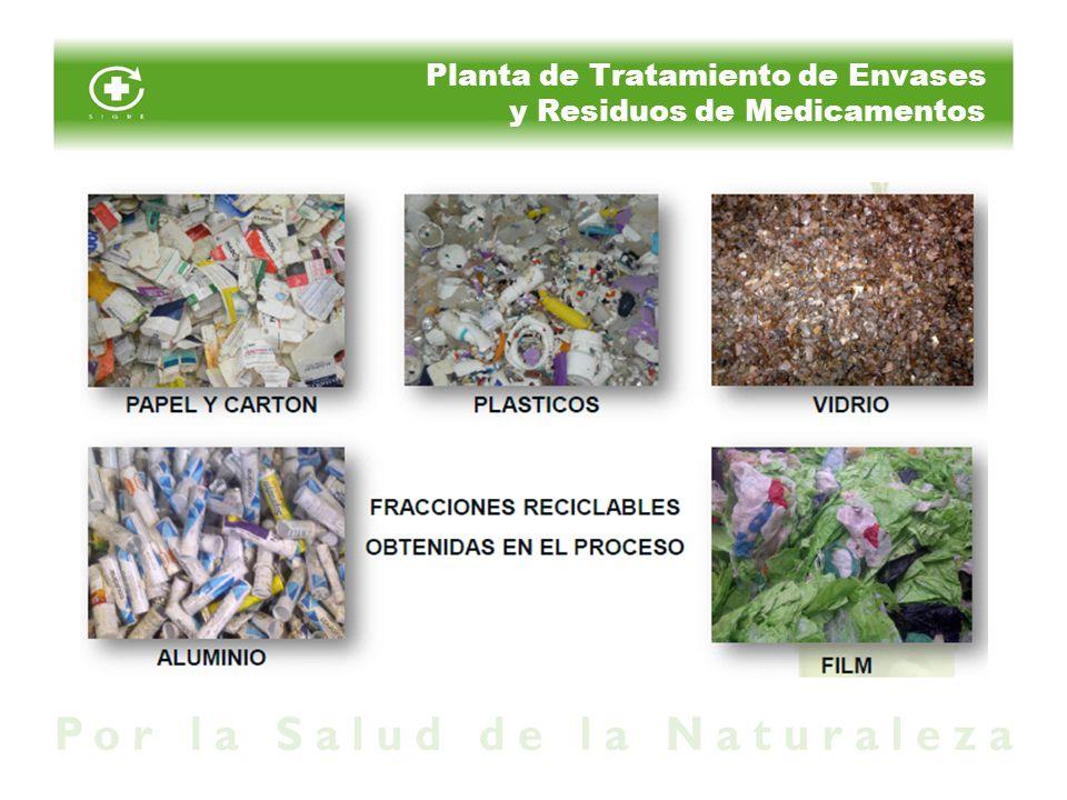 Planta de Tratamiento de Envases y Residuos de Medicamentos