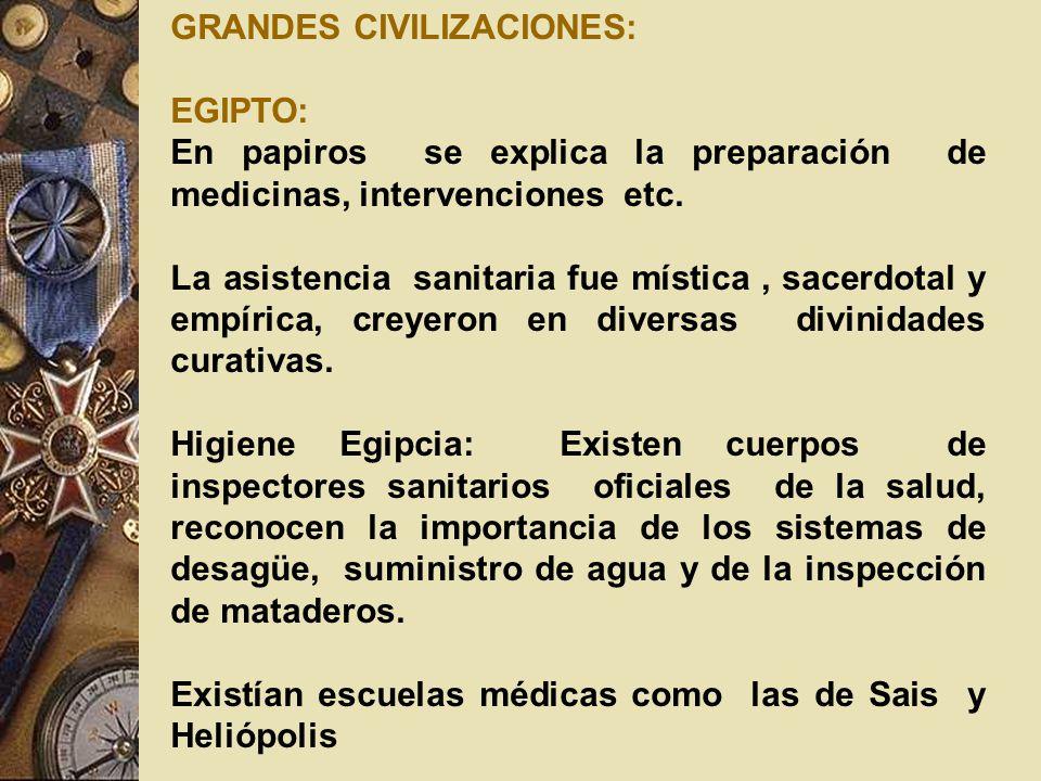 GRANDES CIVILIZACIONES:
