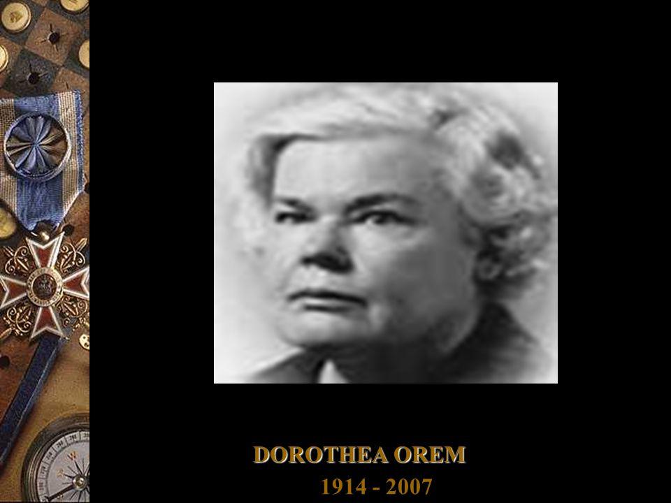 DOROTHEA OREM 1914 - 2007