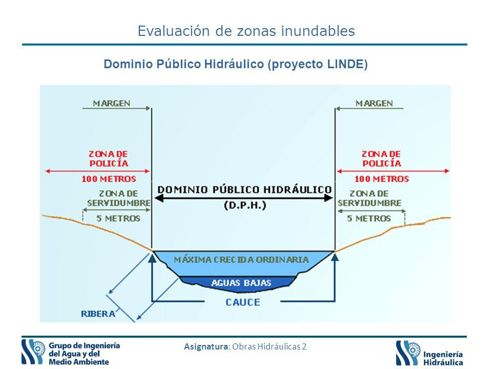 Dominio Público Hidráulico (proyecto LINDE)
