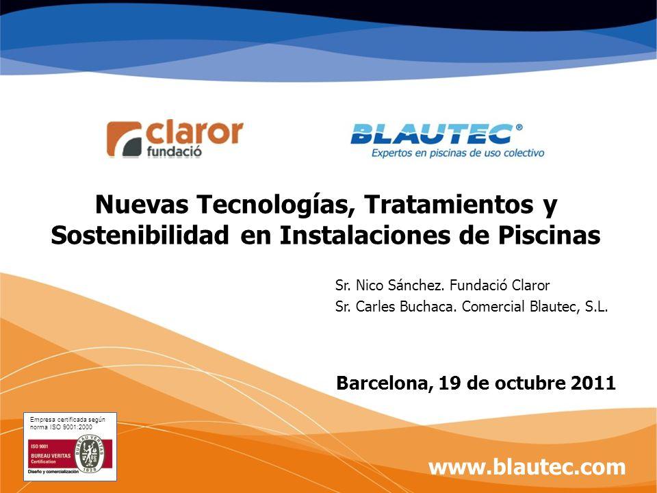 Nuevas Tecnologías, Tratamientos y Sostenibilidad en Instalaciones de Piscinas