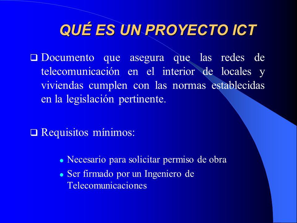 QUÉ ES UN PROYECTO ICT