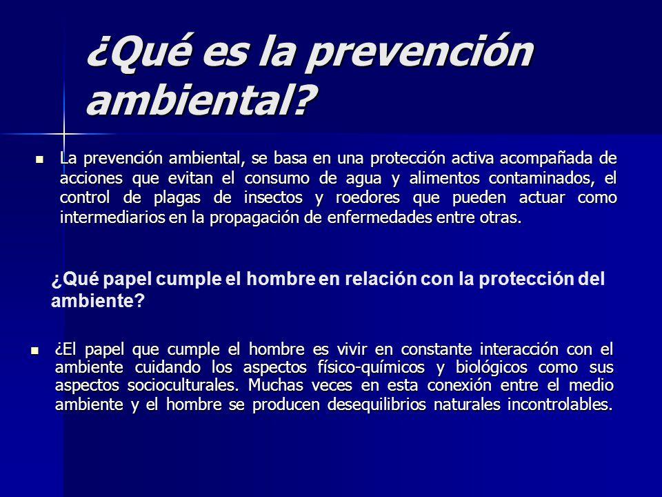¿Qué es la prevención ambiental