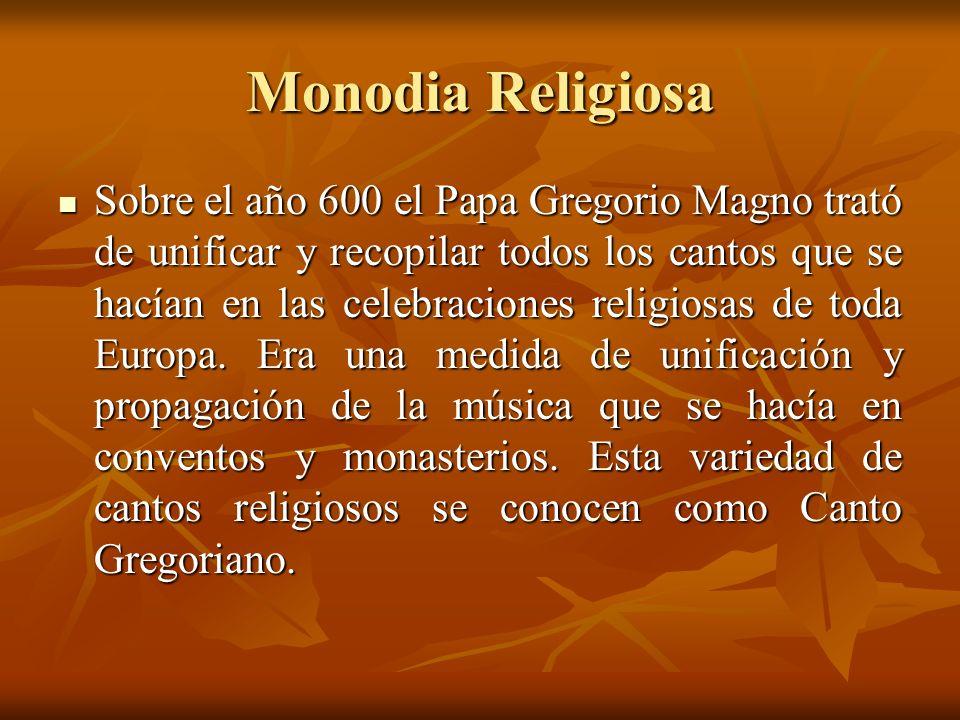 Monodia Religiosa
