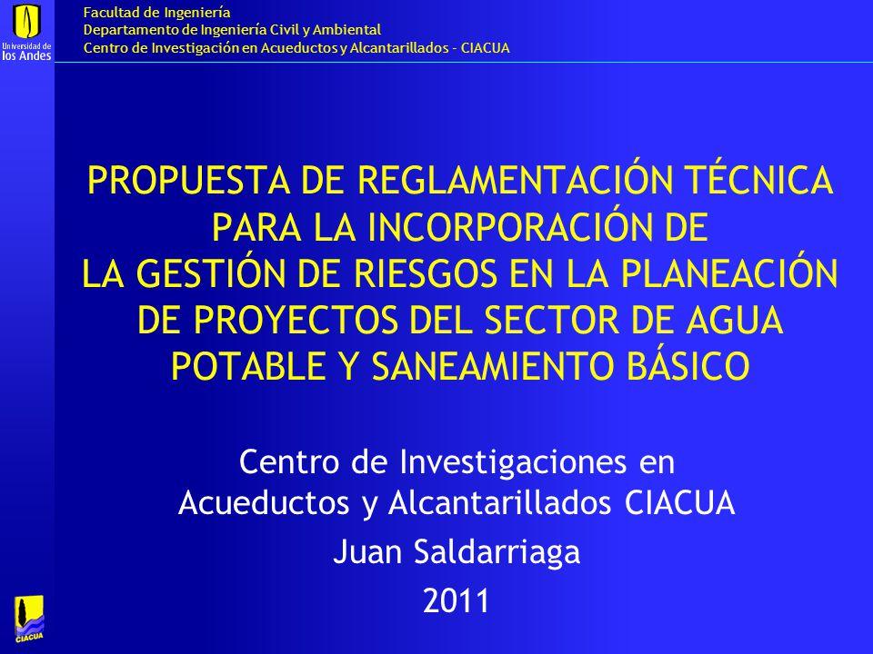Centro de Investigaciones en Acueductos y Alcantarillados CIACUA