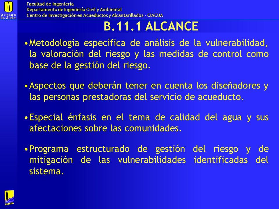 B.11.1 Alcance