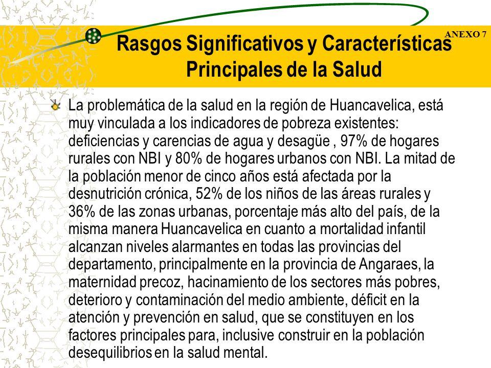 Rasgos Significativos y Características Principales de la Salud
