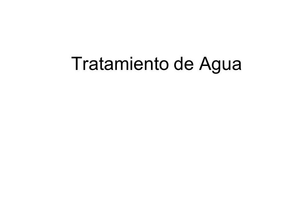 Tratamiento de Agua