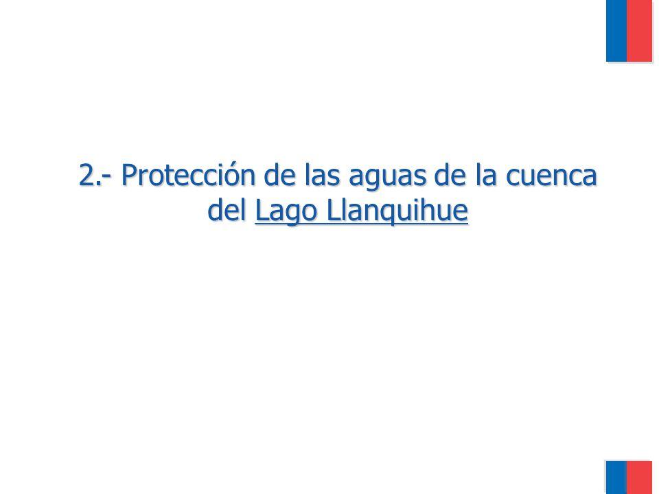2.- Protección de las aguas de la cuenca del Lago Llanquihue