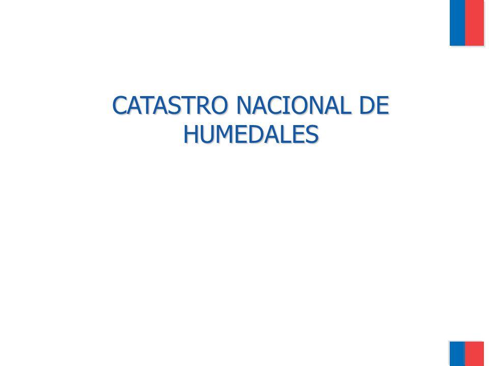 CATASTRO NACIONAL DE HUMEDALES