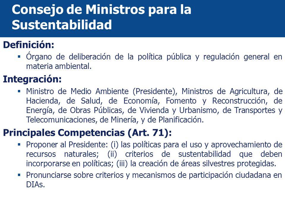 Consejo de Ministros para la Sustentabilidad