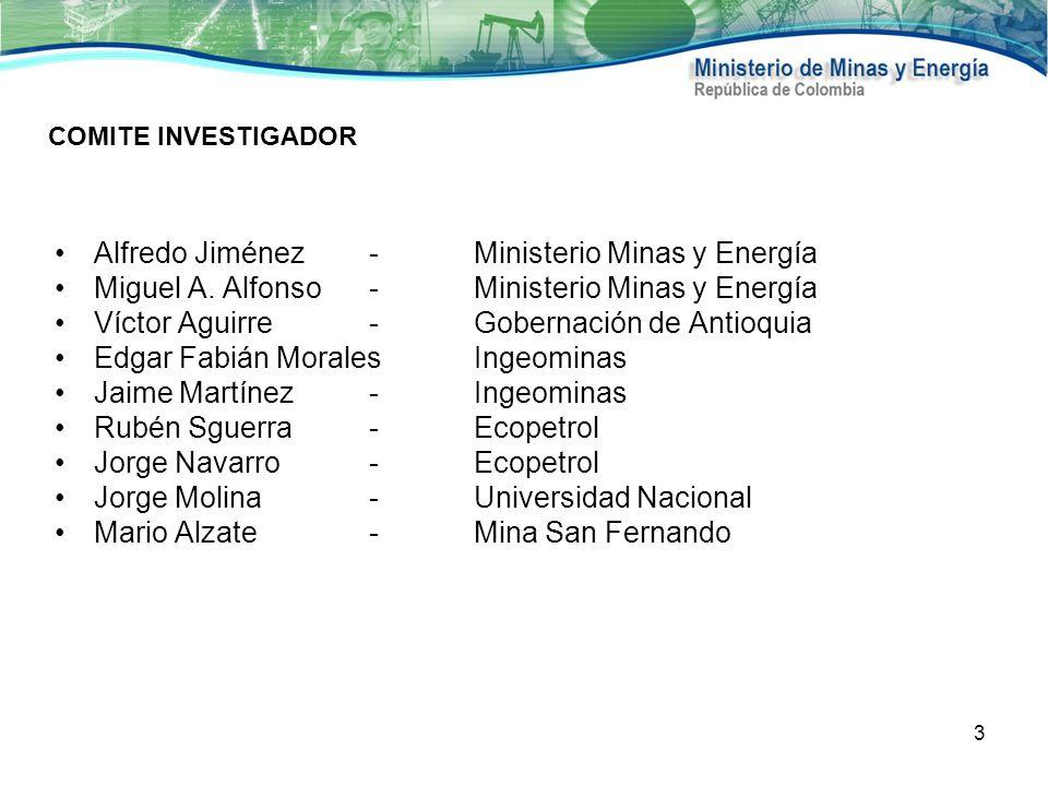 Alfredo Jiménez - Ministerio Minas y Energía