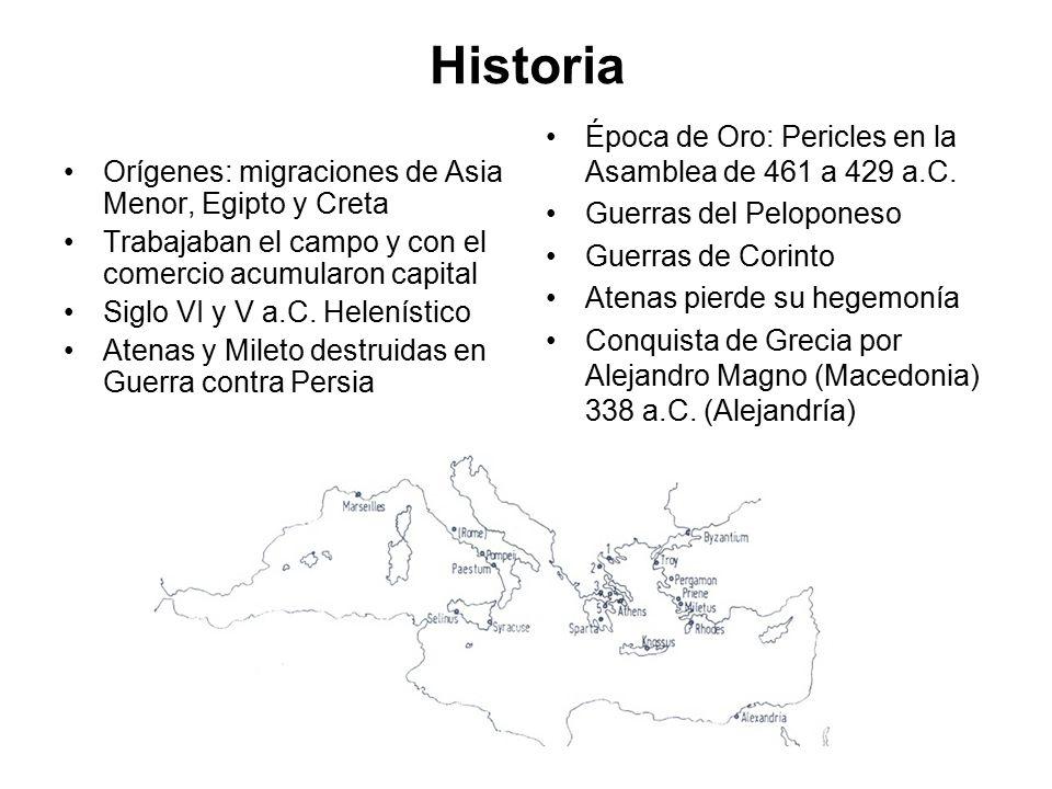 Historia Época de Oro: Pericles en la Asamblea de 461 a 429 a.C.