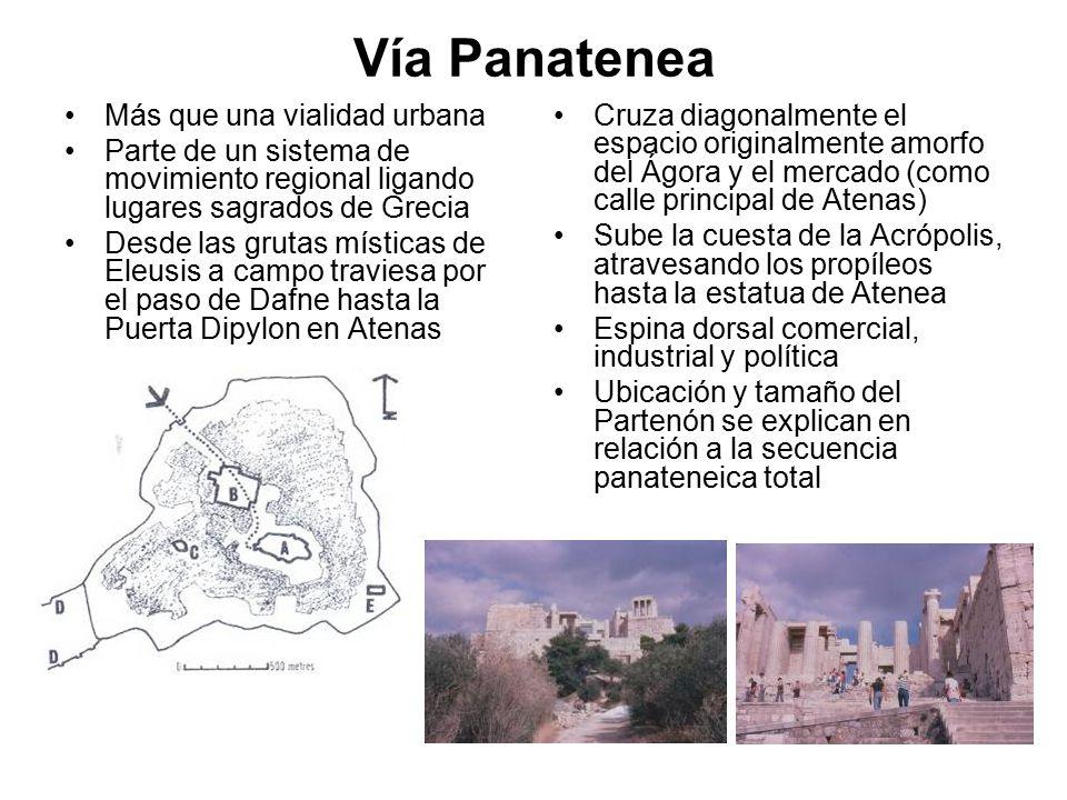 Vía Panatenea Más que una vialidad urbana