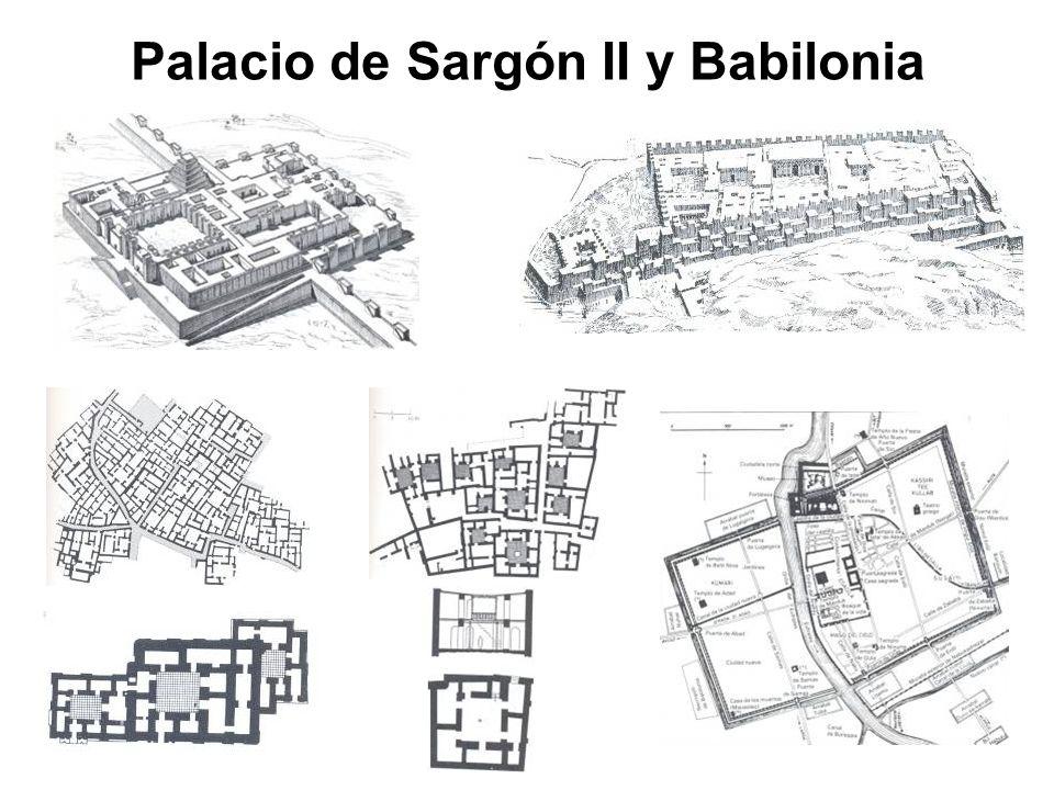 Palacio de Sargón II y Babilonia