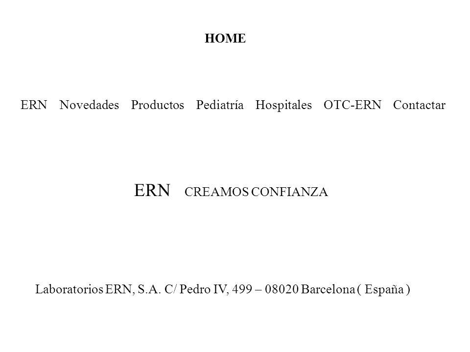 ERN CREAMOS CONFIANZA HOME