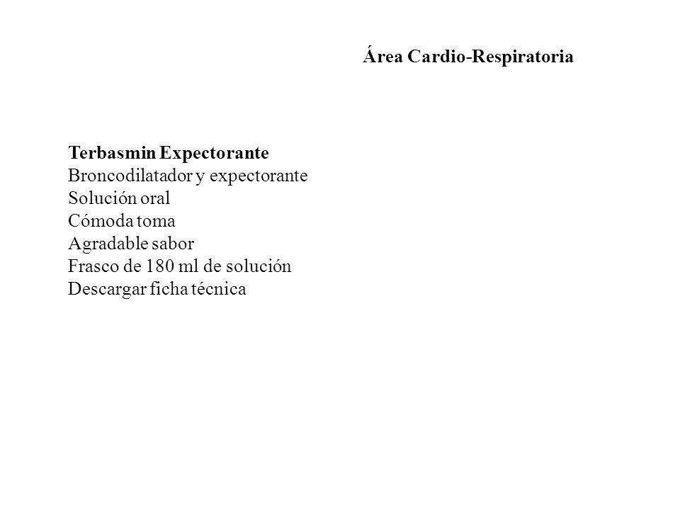 Área Cardio-Respiratoria