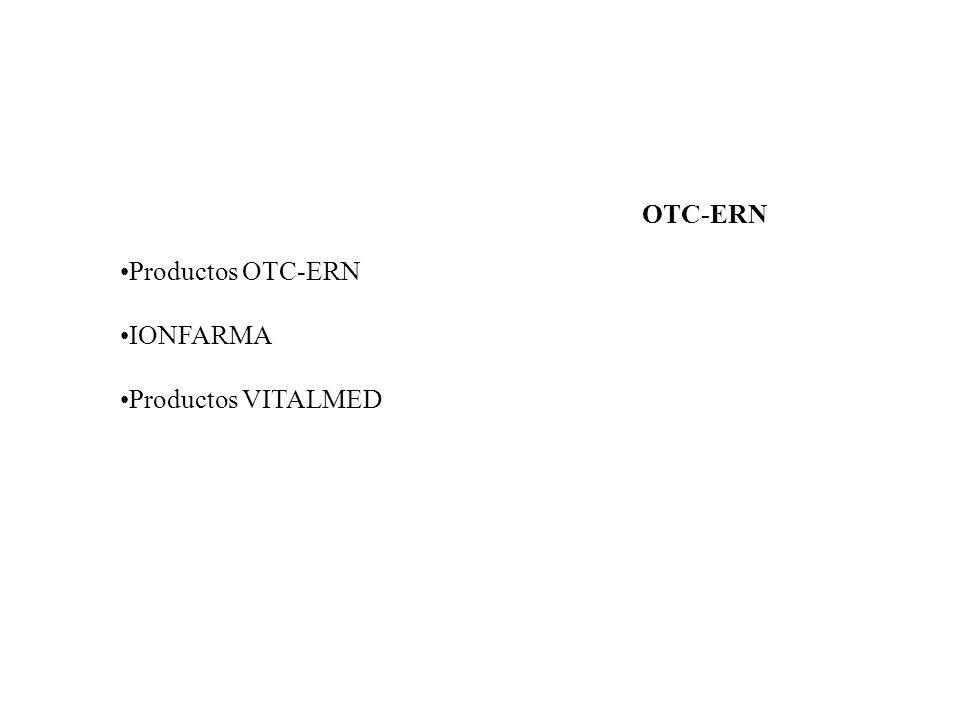 OTC-ERN Productos OTC-ERN IONFARMA Productos VITALMED