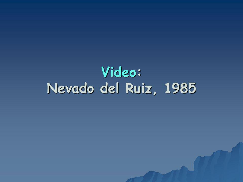 Video: Nevado del Ruiz, 1985