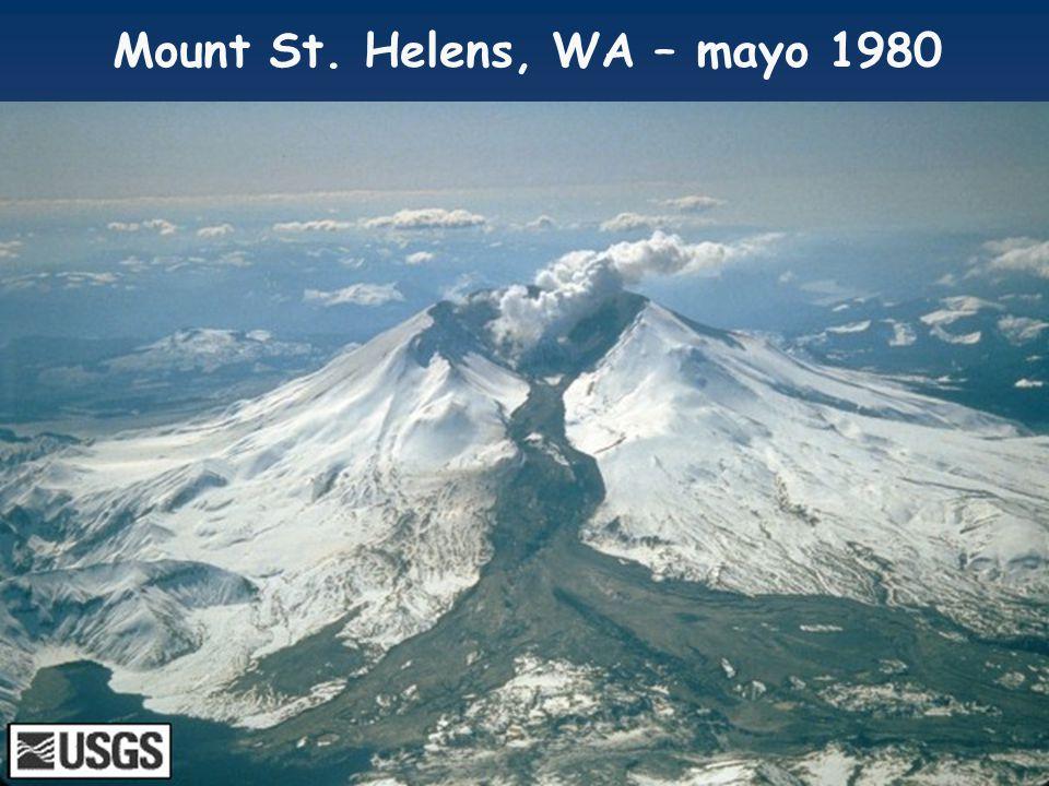 Mount St. Helens, WA – mayo 1980