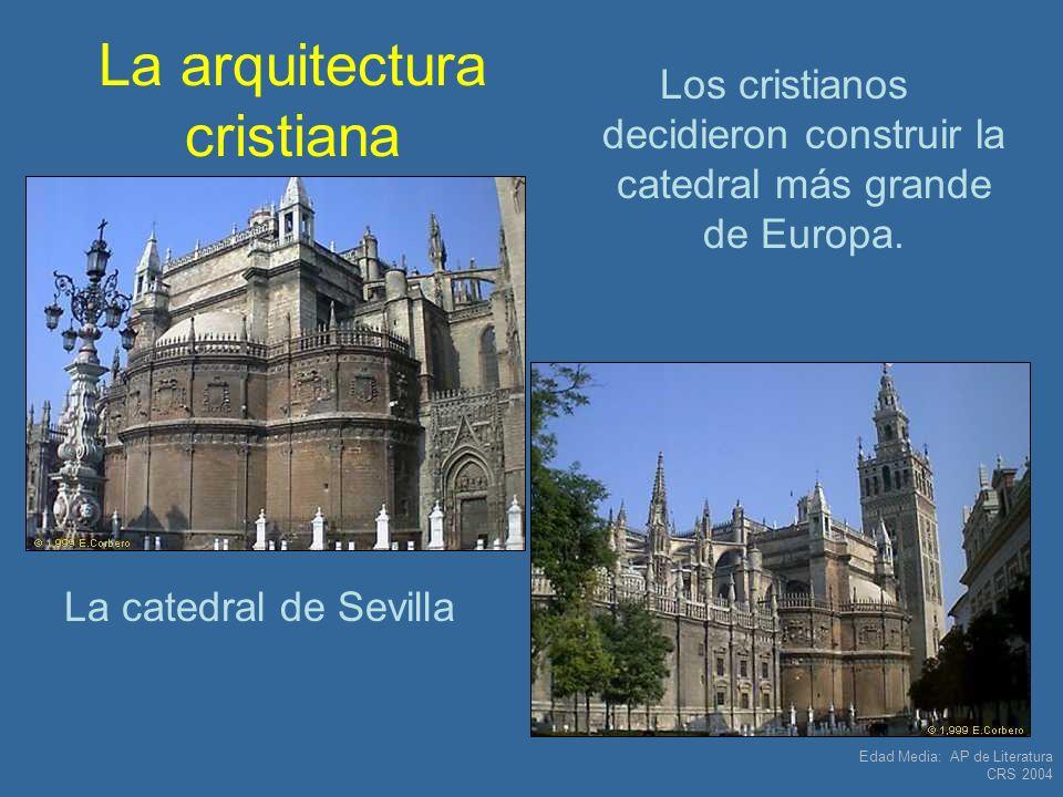 La arquitectura cristiana