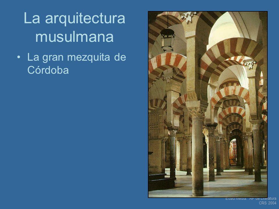 La arquitectura musulmana
