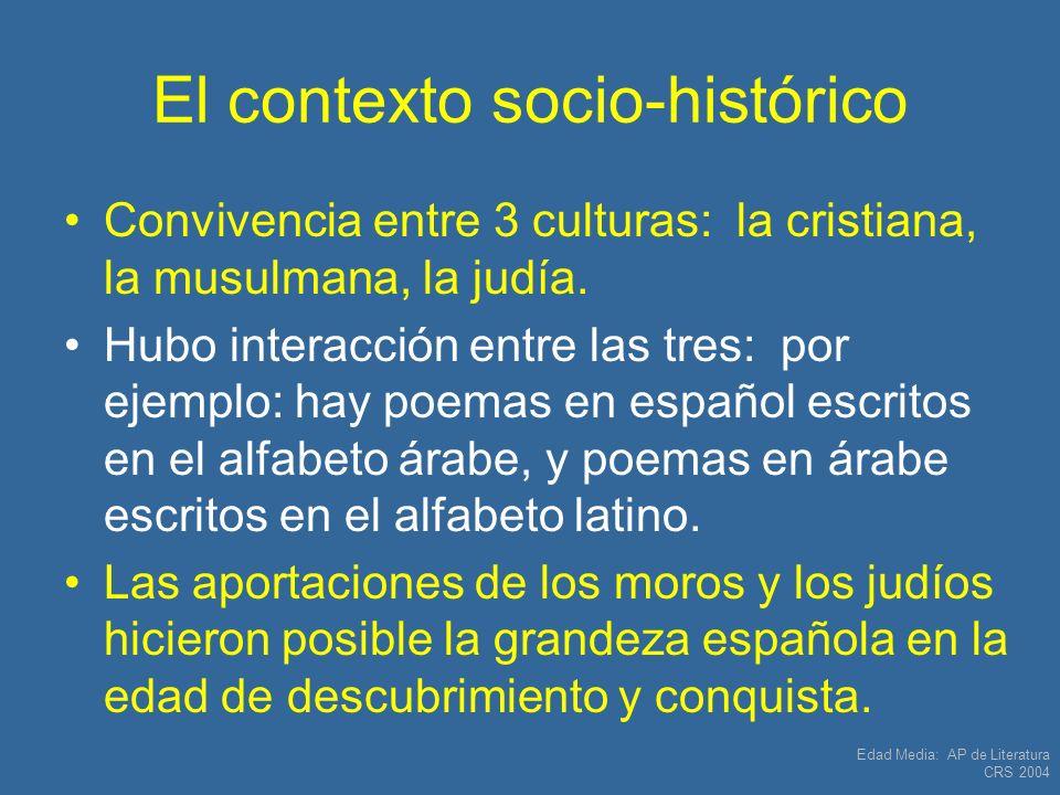 El contexto socio-histórico