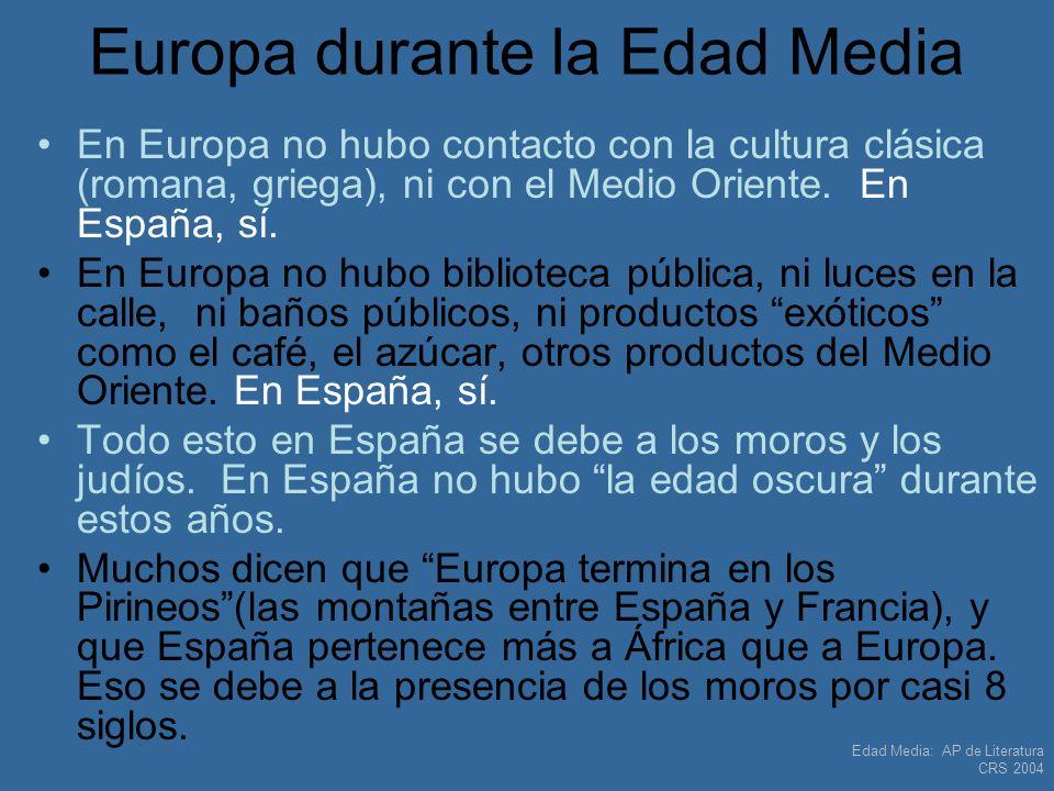 Europa durante la Edad Media