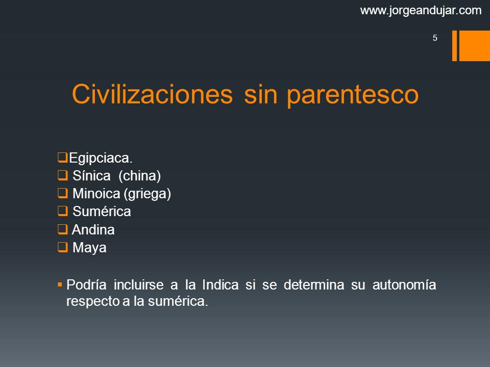 Civilizaciones sin parentesco