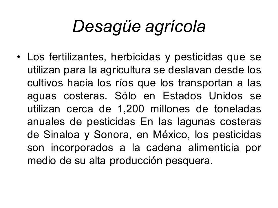Desagüe agrícola
