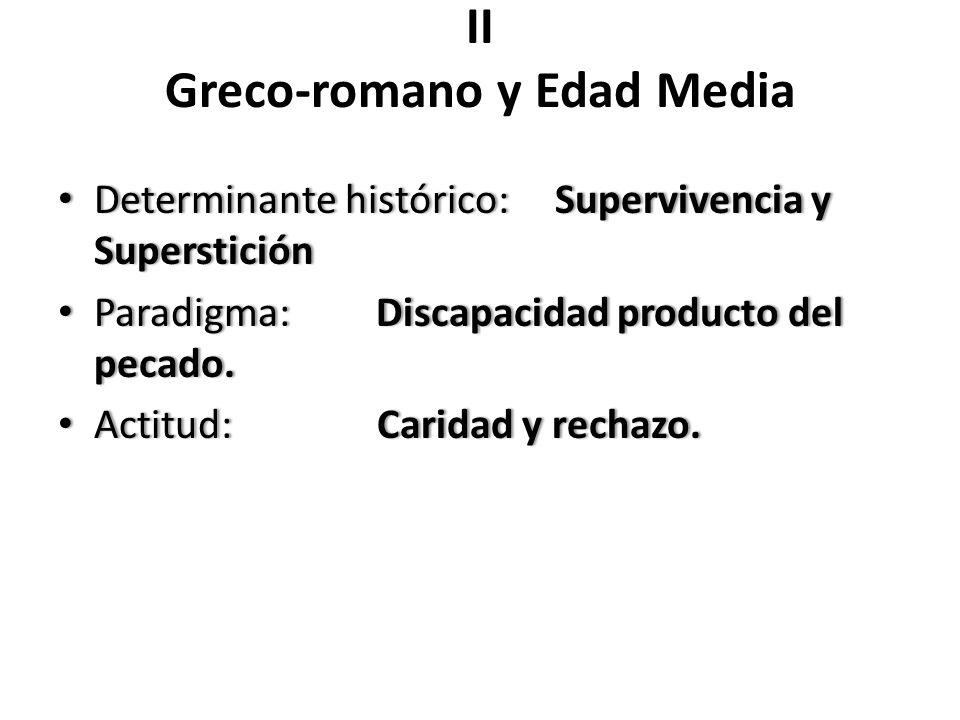 II Greco-romano y Edad Media