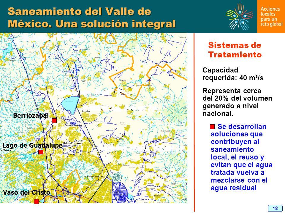 Saneamiento del Valle de México. Una solución integral