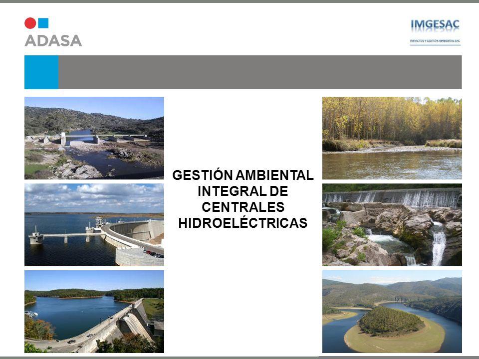 GESTIÓN AMBIENTAL INTEGRAL DE CENTRALES HIDROELÉCTRICAS