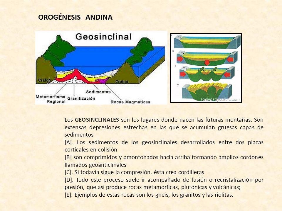 OROGÉNESIS ANDINA