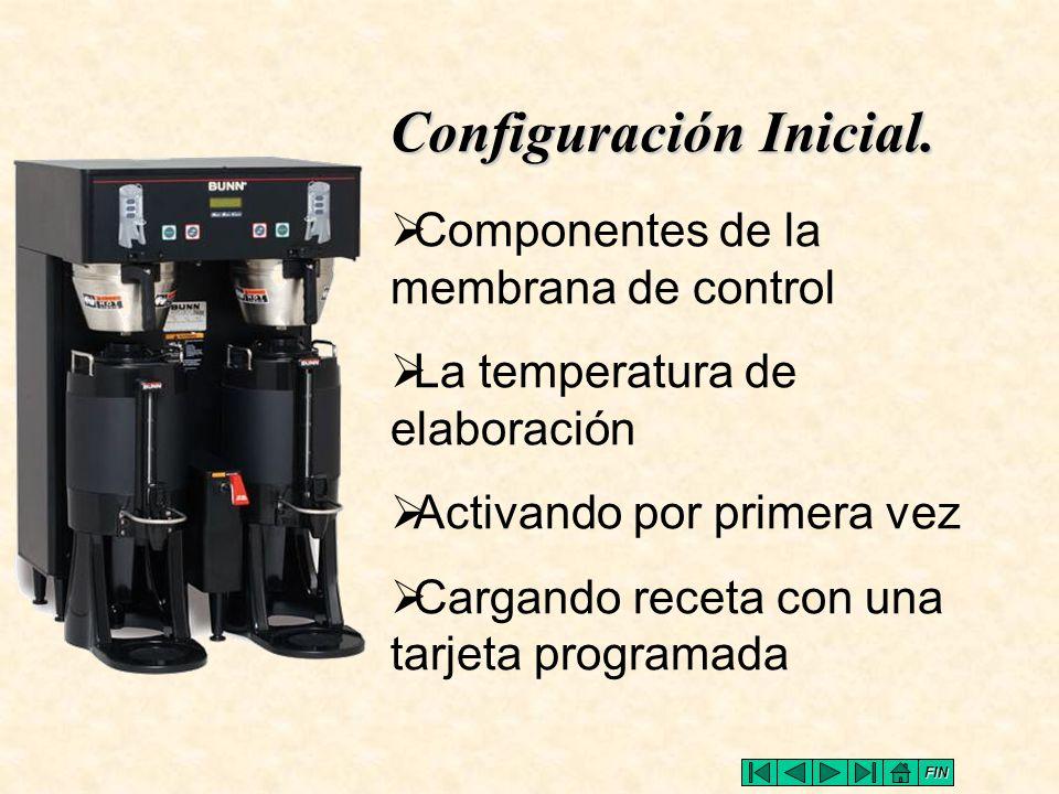 Configuración Inicial.