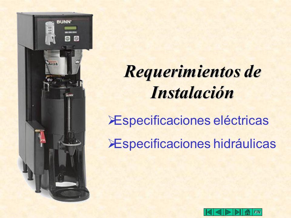 Requerimientos de Instalación