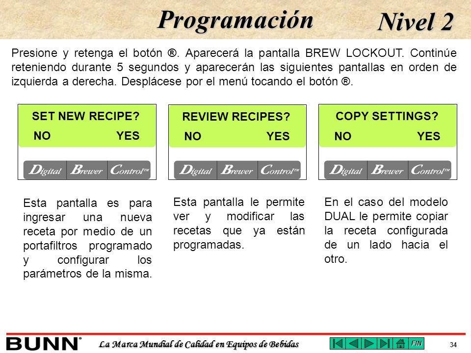 Programación Nivel 2.