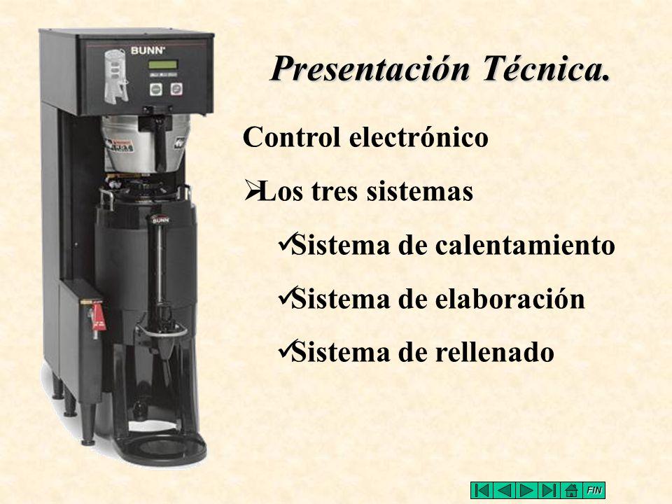 Presentación Técnica. Control electrónico Los tres sistemas