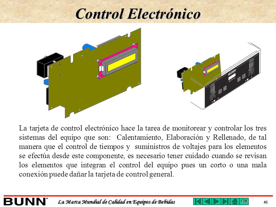Control Electrónico
