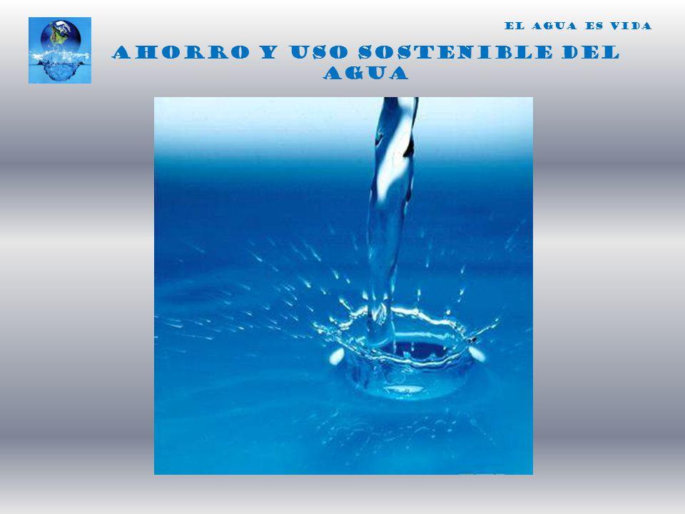 Ahorro y uso sostenible del agua
