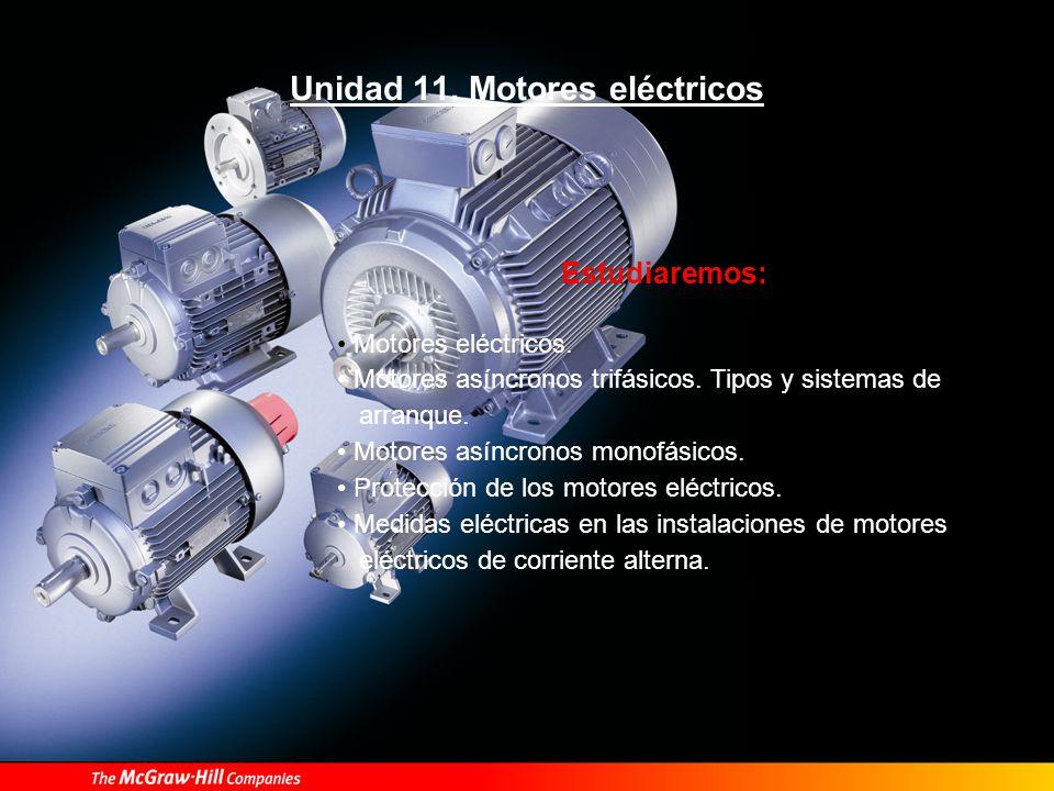 Motores eléctricos Son máquinas eléctricas que transforman en energía mecánica, la energía eléctrica que absorben por sus bornas.