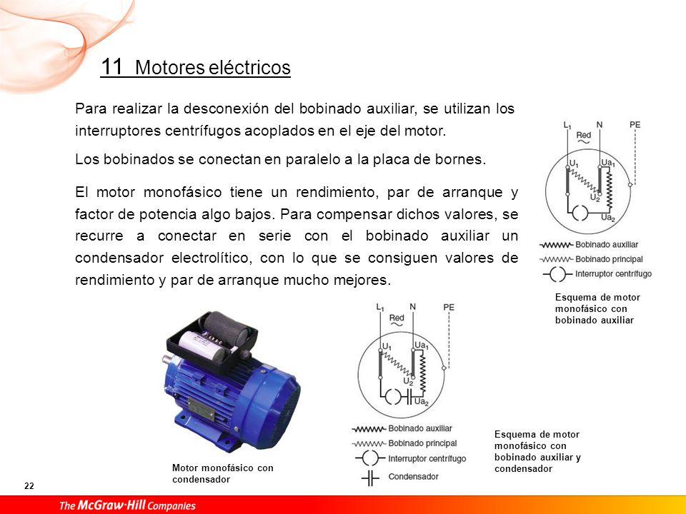La puesta en marcha se realiza mediante un interruptor bipolar manual adecuado a la intensidad del motor.