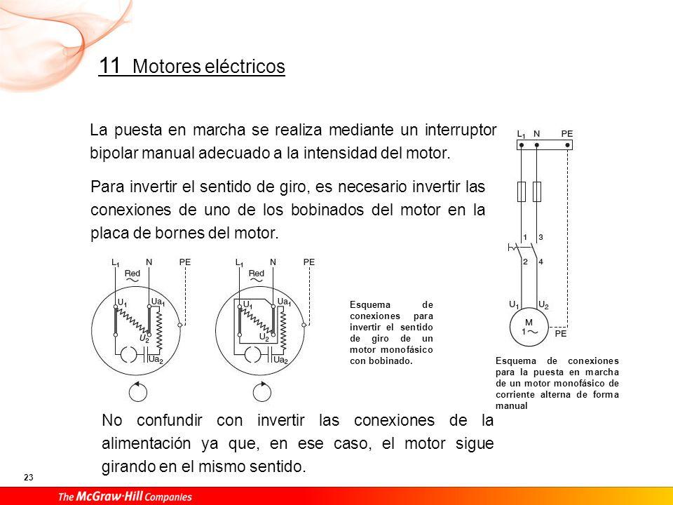 Existe una forma más sencilla de invertir el giro, para estos motores.