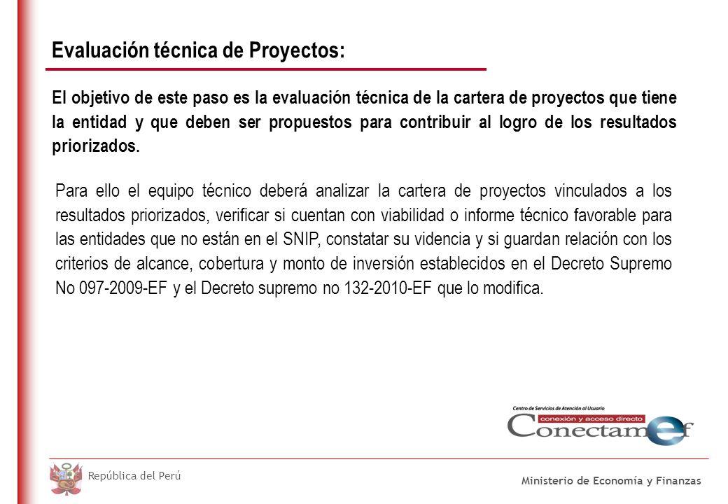 CRITERIOS DE IMPACTO PARA LOS PROYECTOS DE INVERSIÓN