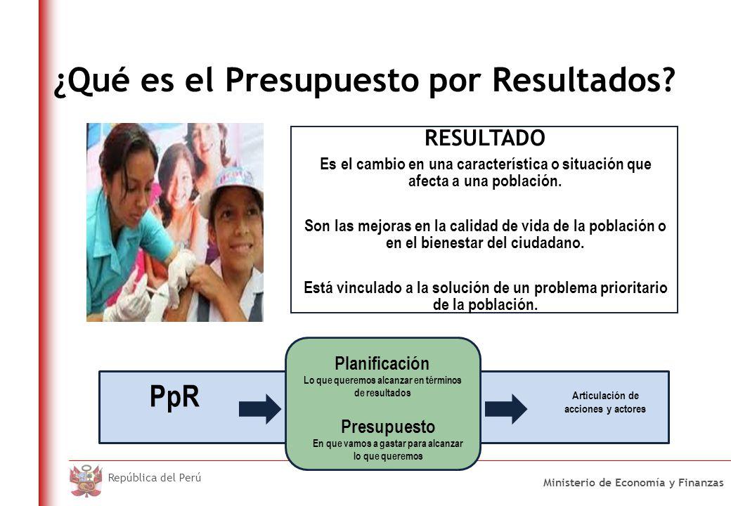 Programas Estratégicos del PpR