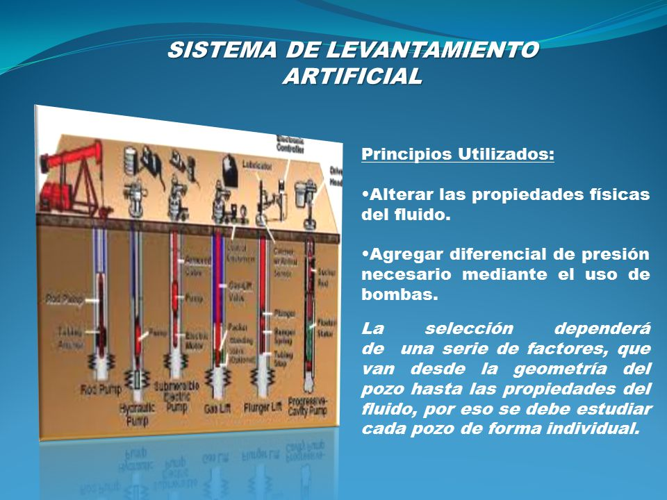 SISTEMA DE LEVANTAMIENTO ARTIFICIAL