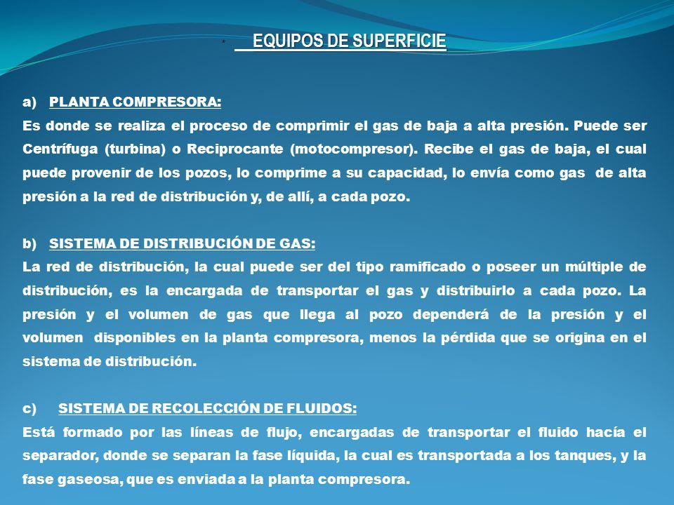 * EQUIPOS DE SUPERFICIE