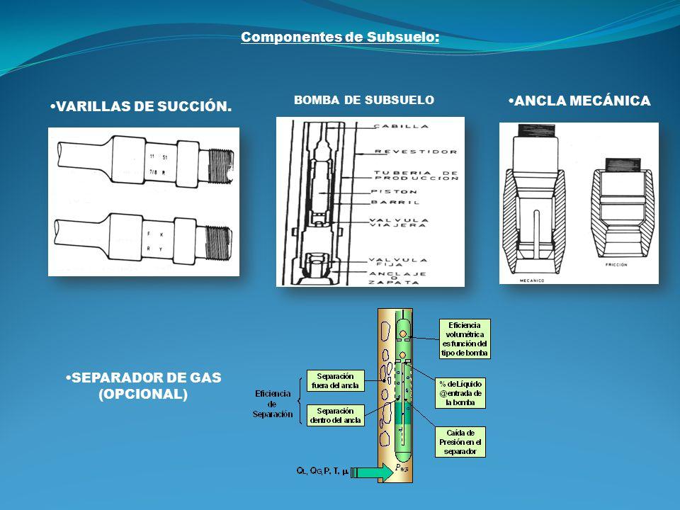 SEPARADOR DE GAS (OPCIONAL)