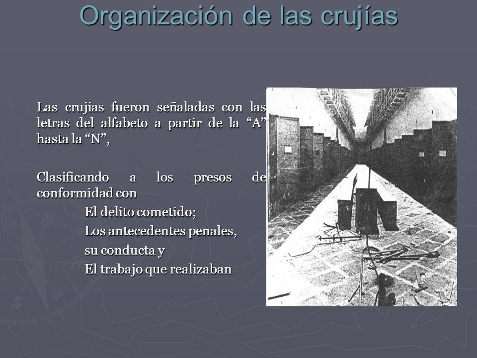 Organización de las crujías